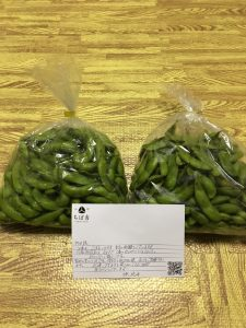 自然栽培 秘伝豆