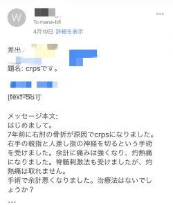 相談のメール
