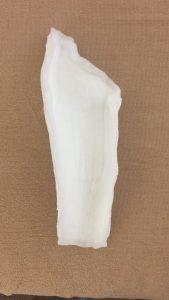 手首の固定材料
