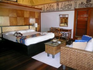 マナ島 宿泊部屋