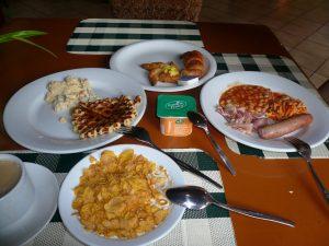 朝食 メニュー