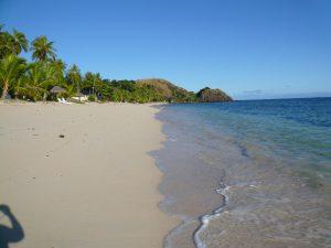 マナ島の海
