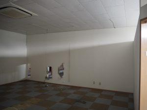 工事前のスペース