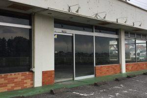 解体後の店舗